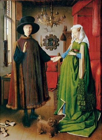 14b Arnolfini portrait - Jan van Eyck